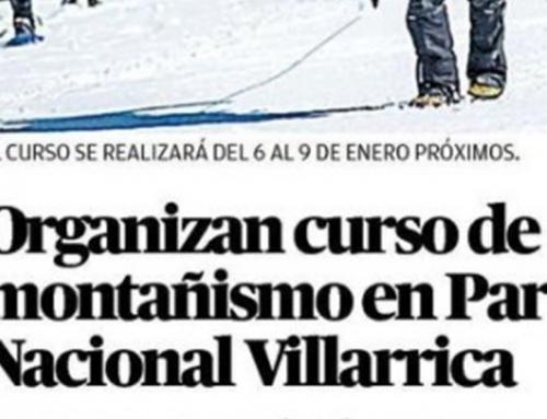Diario Austral – Curso de Montañismo en Villarrica