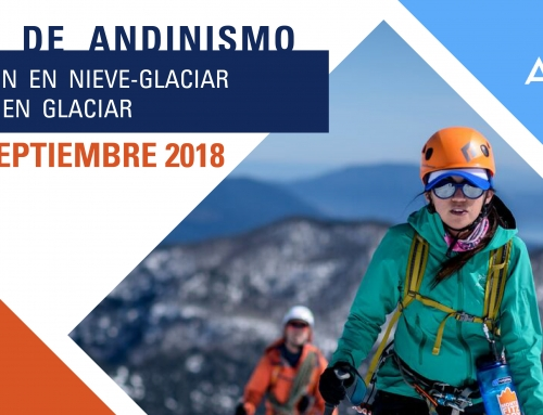 Curso de Andinismo: Progresión en Nieve – Glaciar y Rescate en Glaciar.