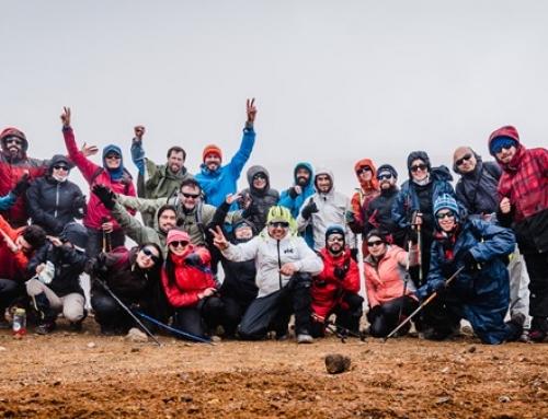 """Con éxito finaliza segundo Encuentro de Montaña """"Entre Lengas"""" en el Cordón del Caulle"""