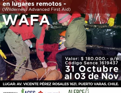 Certificación WAFA – 31 Octubre al 03 Noviembre